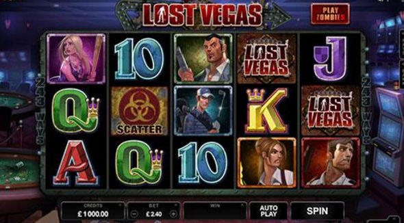Lost Vegas Slot - Play this Microgaming Casino Game Online