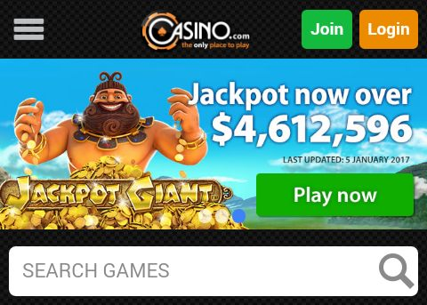 Live games on mobile client of Casino.com & MansionCasino.com