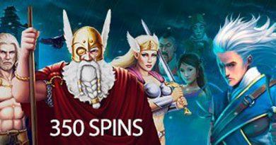 350 Free Spins Slotocash Casino