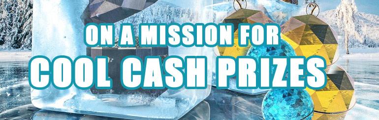 4000 € Frosty Free Spin Challenge Mr Green Casinolla