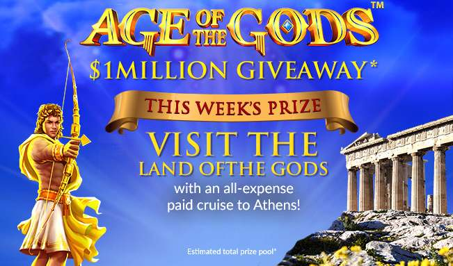 Age of the Gods: $1million Giveaway