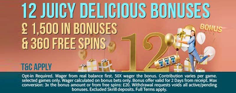 August 2021 Bonuses Schmitts Casino