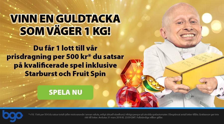 Bgo Casino Gold Bar Promo Sweden Norway Finland
