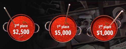 Mamma Mia Tourney with $8500 Cash Prizes at Box 24 Casino!