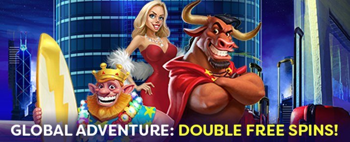 Double Free Spins this Whole June at Mad About Slots Casino