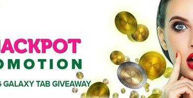 Get Loads of Spins and win a Samsung Galaxy Tab at CasinoLuck