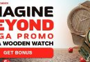Grab lots of Spins and Win a Holzkern Wooden Watche at NextCasino Pomo