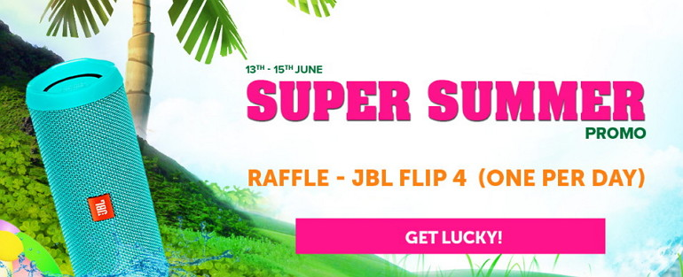 Get Cool Goodies at the Hot Summer Promo at CasinoLuck