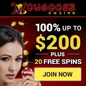Mongoose Casino Bonus