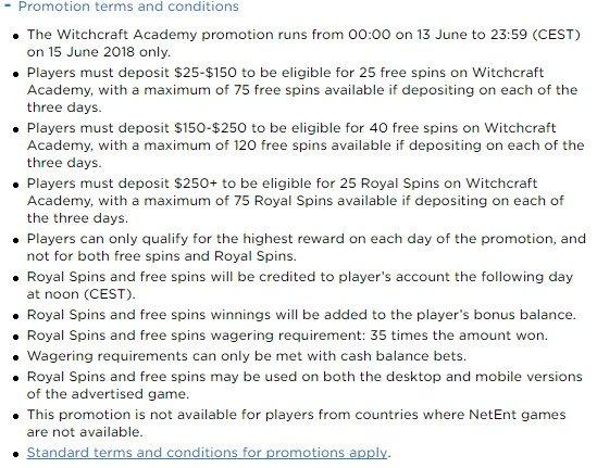 Netent Slot Witchcraft Academy