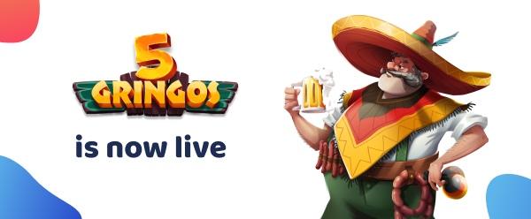 New EU Online Casino 5 Gringos