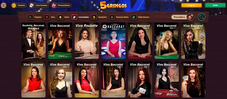 Uusi EU: n online-kasino 5 Gringos