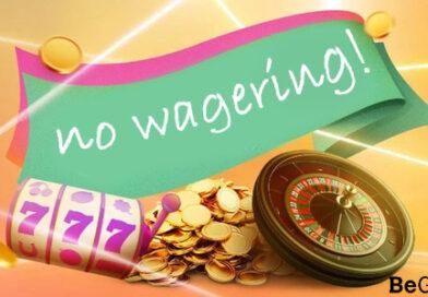 No Wagering Casino UK