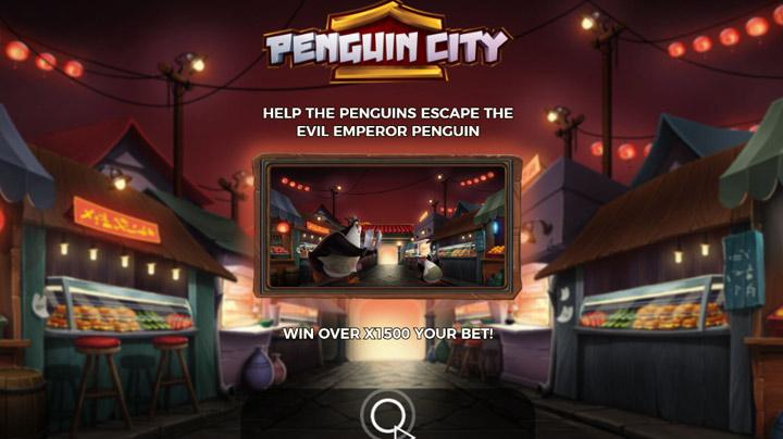Yggdrasil Penguin city Slot recension