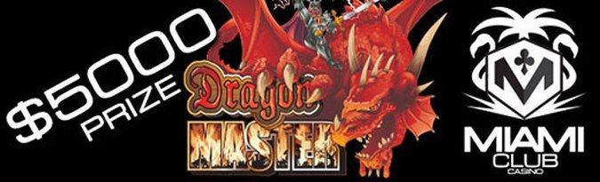 Play the $5000 Dragon Master Slot Tournament this May