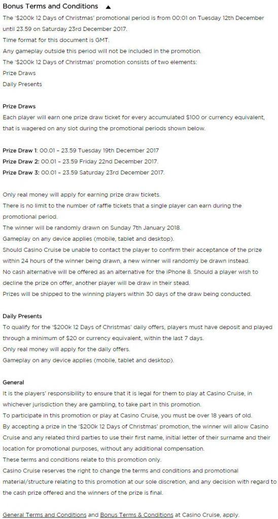 Plush Prizes at Casino Cruise this Christmas!