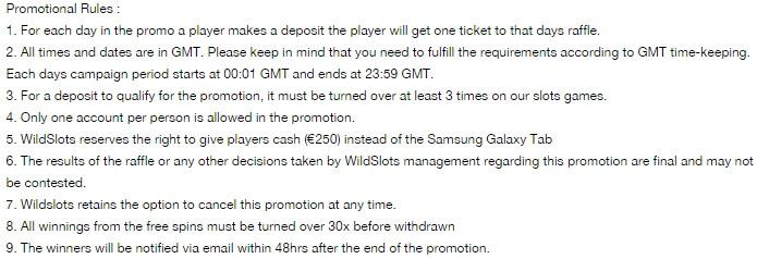 Win a Samsung Galaxy Tab & Bonus Spins in WildSlots Casino's Diamonds are forever Promo