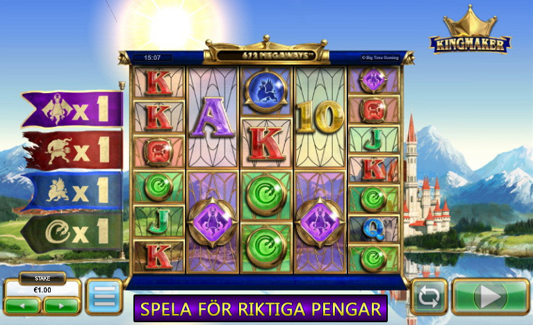 Hot new Slot Kingmaker av Big Time Gaming Recenserad