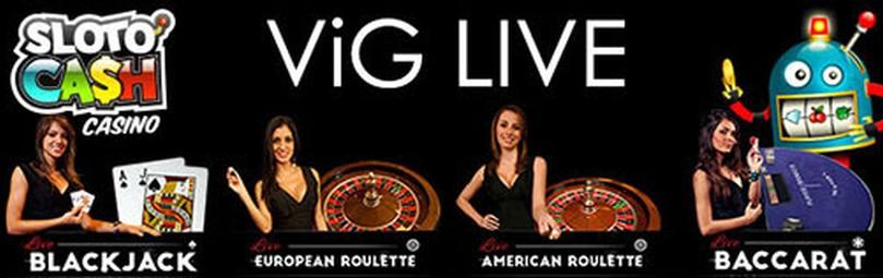 Slotocash Casino gets ViG Live Dealer Games