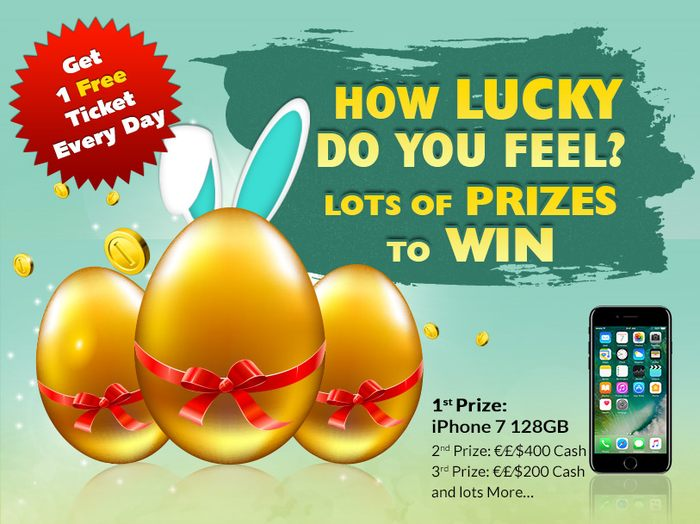 Win an iPhone 7 at the Slots Magic Casino's Easter Tournament