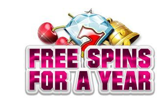 Slots Magic Casino offering free spins for a year!