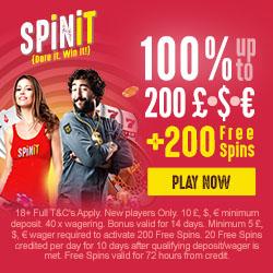 Spinit Casino Bonus