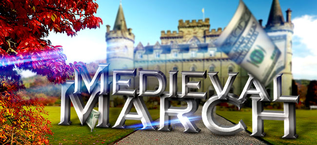 Win big with Medieval March at Lucky247 Casino