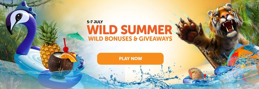 Win Lots Of Spins & a Giant Inflatable Peacock at WildSlots Casino!
