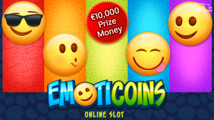 Win the €10,000 Emoticoins Prize Draw at Casino Room
