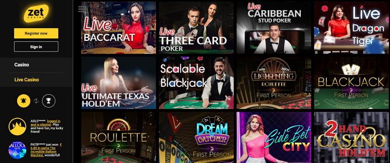 ZetCasino Casino Review